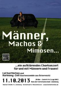 2013 Männer, Machos und Mimosen
